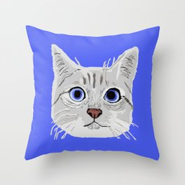 C2 Throw Pillow