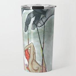 puppet man Travel Mug