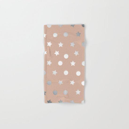 Silver Confetti Hand & Bath Towel