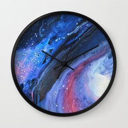 The Space Out There I Wall Clock