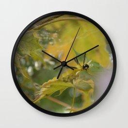 Cute Creeping Caterpillar Wall Clock