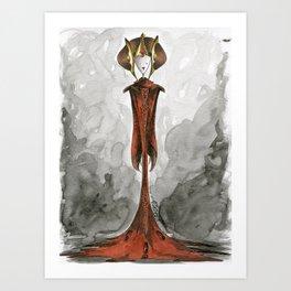Queen Amidala Art Print