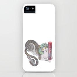 Wella cat iPhone Case