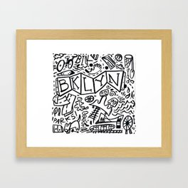 BKLYN/KT Framed Art Print