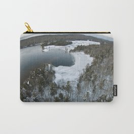 Aerial Photo of 7th Lake Bay - Adirondacks Carry-All Pouch