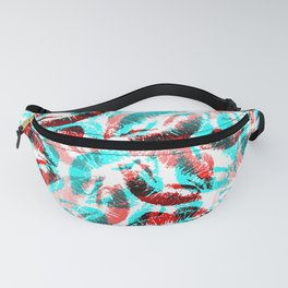 3D Kisses Fanny Pack
