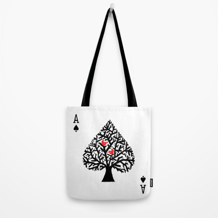 Ace of spade Tote Bag