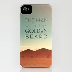 The Man with the Golden Beard iPhone (4, 4s) Slim Case