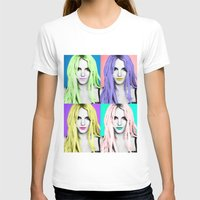 britney T-shirts featuring BRITNEY POP by Lovejonny