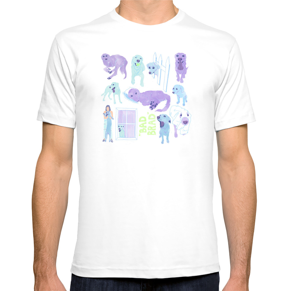 Brad Tee Shirt by artdipaolo