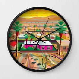 Twentynine Palms Wall Clock