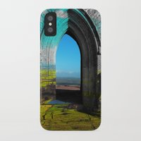 portal iPhone & iPod Cases featuring Portal by Tobias Bowman