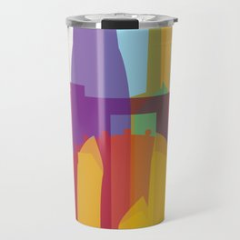 Shapes of Singapore. Travel Mug