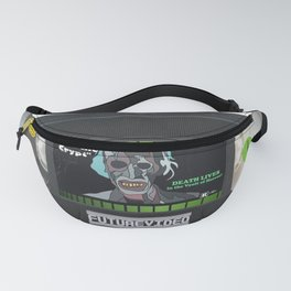 Tales from the Crypt custom vhs tape art Fanny Pack