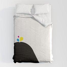 CMYK Whale Comforters