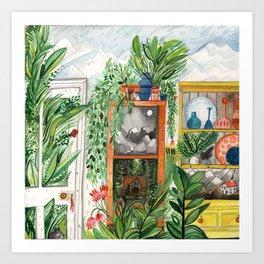 The Jungle Room Art Print