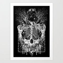 Endless Bloodshed Art Print