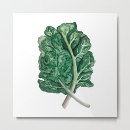 Kale Yeah! Metal Print