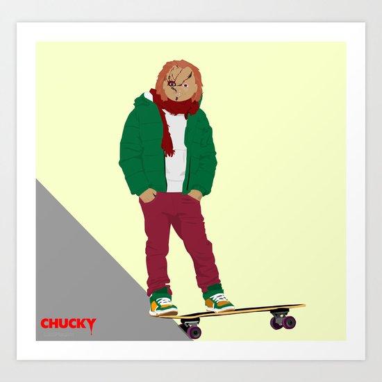 CHUCKY - Modern outfit version Art Print