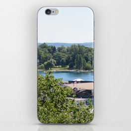 Harbor Springs Bay- View from Bluff (1) iPhone Skin