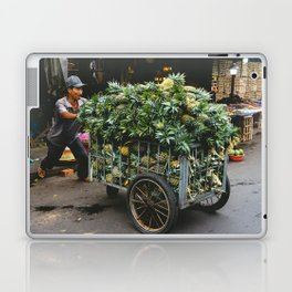 Pineapples in the Market, Hoi An, Vietnam Laptop & iPad Skin