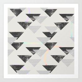 Light to Angles Art Print