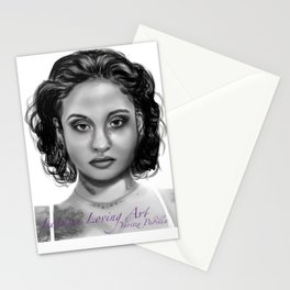 Kehlani Portrait  Stationery Cards