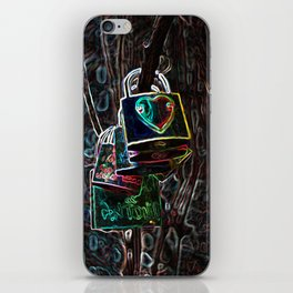 Locks - abstract iPhone Skin