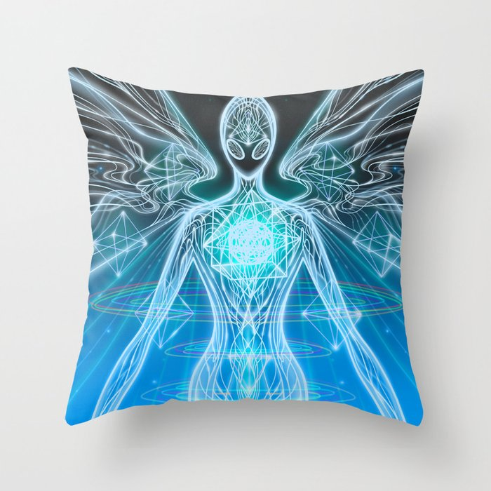 The Energy of Value Throw Pillow