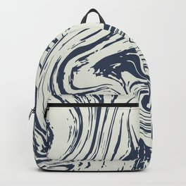 Abstract two colours background Backpack