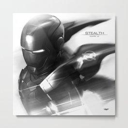 Mark 7 Stealth Metal Print