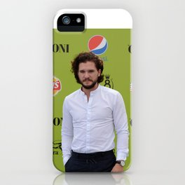 KIT HARINGTON iPhone Case