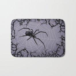 Briar Web - Gray Bath Mat