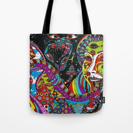 Psychedelic Trip Tote Bag