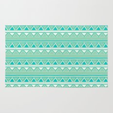 Green and Blue Rug
