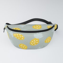 Pineapple Party – Yellow & Mint Fanny Pack