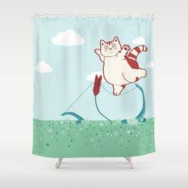 Fatty's in San Francisco Shower Curtain