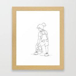 Tilly & Scout Framed Art Print