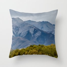 Southern Alps Two Throw Pillow