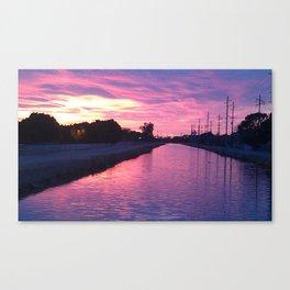 Zona Sunset Canvas Print