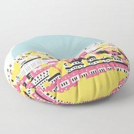 Rooftop view Floor Pillow