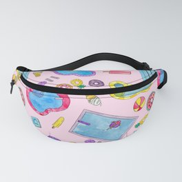 Summer Pool Pastels Fanny Pack