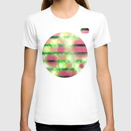 Stained slats (light) T-shirt