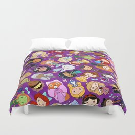 So Many Lil' CutiEs Duvet Cover