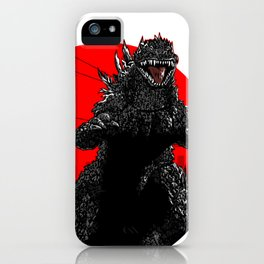 Gojira Kanji iPhone Case