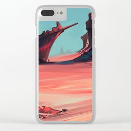 Wrecked Clear iPhone Case