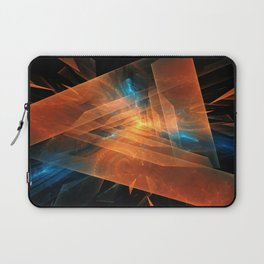 Triangular abstraction Laptop Sleeve