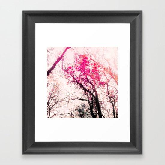 Tree Silhouette 2 Framed Art Print