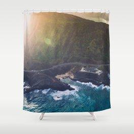 Makapuu Beach in Oahu, Hawaii Shower Curtain