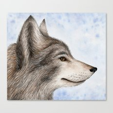 Eastern Wolf Canvas Print